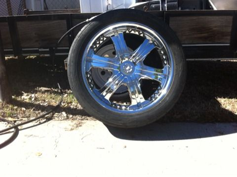 22 inch Vogue wheels - $575 (Texarkana TX)