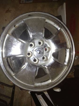 20 factory chrome z-71 wheels - $200 (Texarkana )