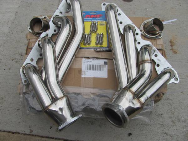 big block headers shortys NEW - $400 (red river army depot)