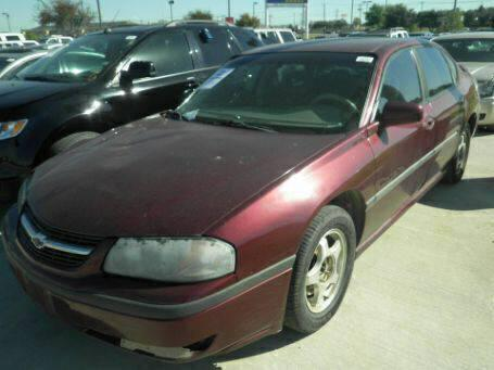 $950, Still Complete - 2002 Chevrolet Impala LS - Runs and Drives - Whole or PARTS