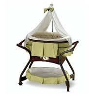 Fisher Price Zen Collection Gliding Bassinet - $100 (Arkadelphia AR)