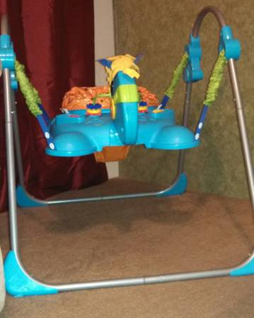 Fisher Price Horse Jumperoo - $30 (Maud)