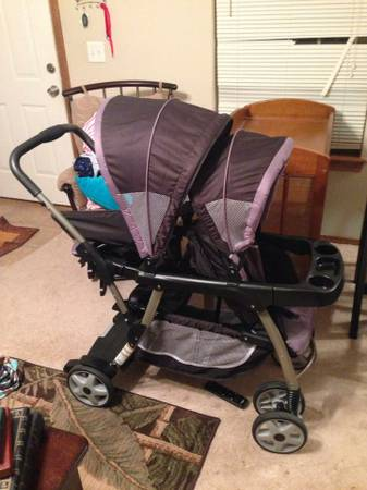 Graco ready2grow  Classic connect stand and ride stroller -  100  texarkana