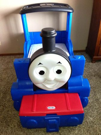 Little Tikes Thomas the Train Toddler Bed - $140 (Atlanta Texas)
