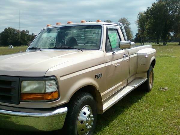 1997 ford f250 with dual wheels and dually bed - $4300 (hope,ar.)
