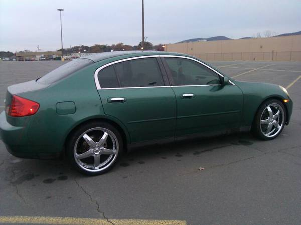 2003 INFINITI G35 WTT (HOT SPRINGS)