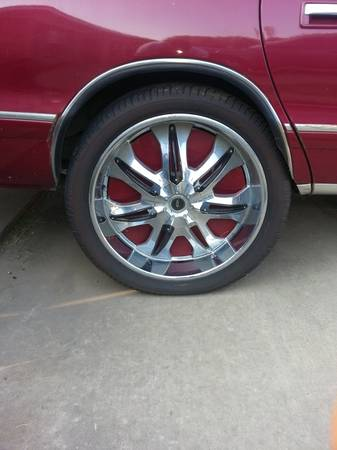 24 inch rims and tires - $950 (Texarkana)
