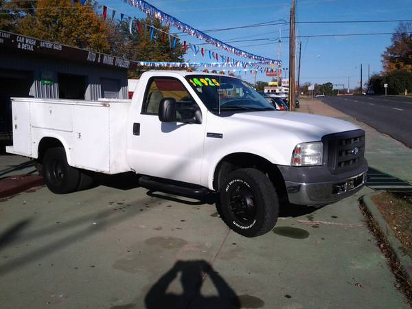 2005 F350 Utility Bed Dually - $4200 (Texarkana, AR )
