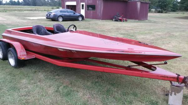 Tunnel Hull Jet Boat - $4000 (new boston)