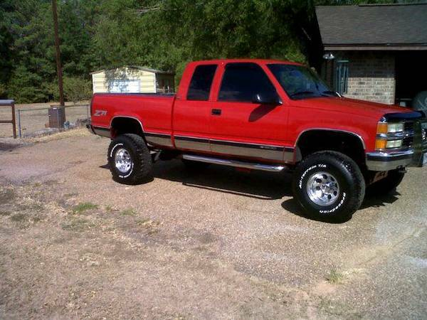 1995 Chevy 1500 Z71 extended cab...Trade for Z71 tahoe with 3rd row - $8250 (Mt Pleasant Tx)