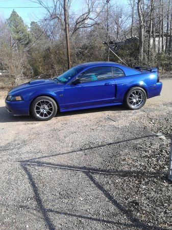 Must See Clean Sonic Blue Mustang GT - $6800 (Texarkana)