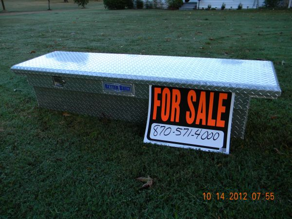 Better Built Truck Tool Box - $200 (Foreman, Ar)