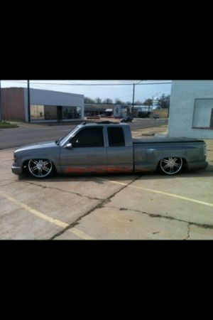 94 Chevy bagged show truck (Texarkana)