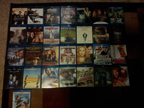 DvDs and Blu-rays for sale   Texarkana