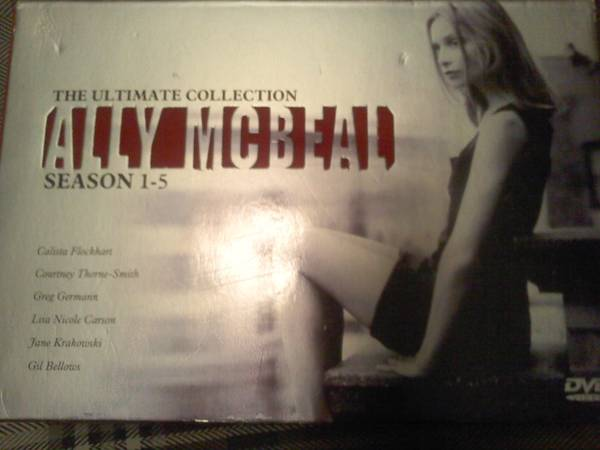 Ally McBeal season 1-5 ultimate collection -   x0024 55  Texarkana
