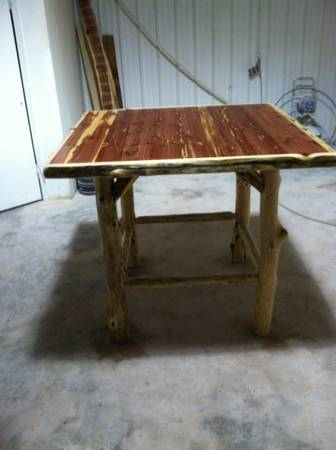 Rustic Cedar lodge furniture  Broken Bow OK