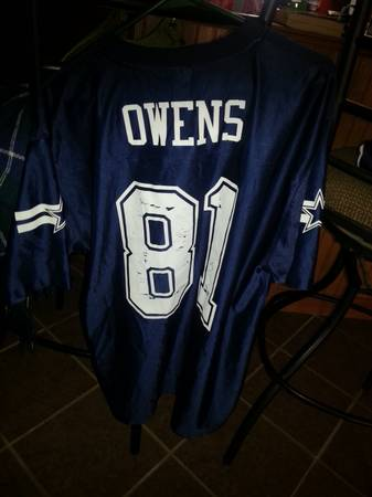 3 Dallas Cowboys Football Jerseys size Large - $15 (Atlanta, Texas)