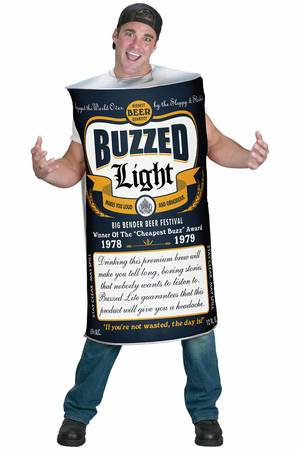 Halloween Costume Beer Can (Adult) - $30 (Hooks, TX)