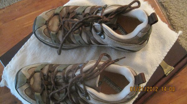 Womens Merrell Canteen Siren Sport Leather Shoes - $18 (Texarkana)