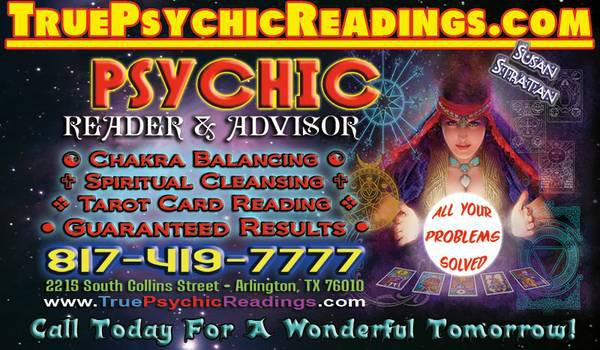 Psychic Reader  Spiritual Advisor  UNLOCK YOUR FUTURE RIGHT NOW