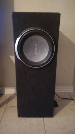 rockford fosgate P2 12 sub in box $65