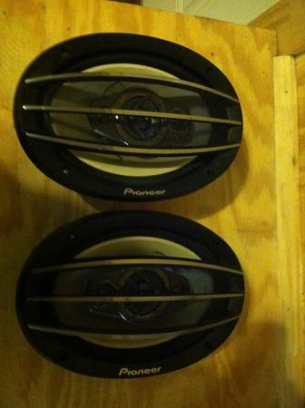 6x9 Pioneer Speakers 4 way - $40 (Texarkana )