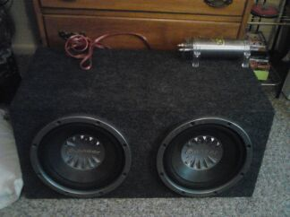 Amp Subs wttwts - $95 (New boston)