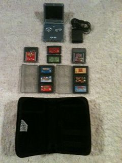 Game Boy Advance SP (10) Games - $50 (DeKalb, Tx.)
