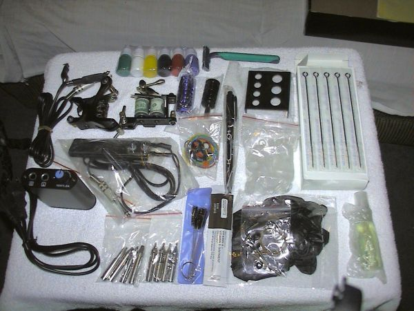 Full Tattoo kits-New. everything u need to start now (El dorado)