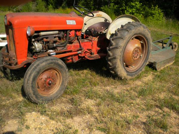 601 ford tractor - $3000 (sheridan, ar.)
