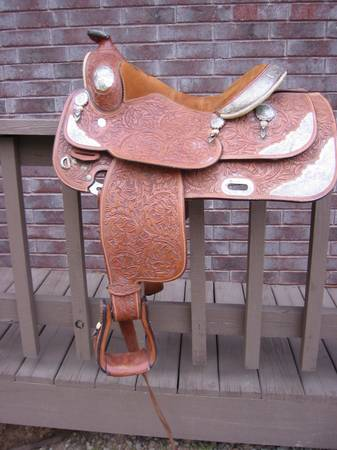 Broken Horn Show Saddle - $2600 (NW ARK)