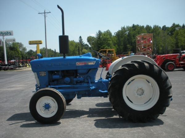 Ford 4400 Industrial Tractor : Ford tractor for sale