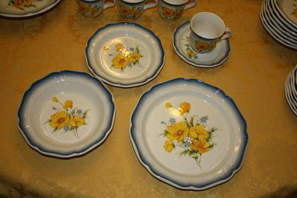 Mikasa Dishes - Country Club - $350 (New Boston)