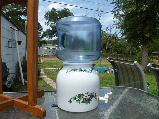 $40, Ceramic Water Dispenser - Ivy