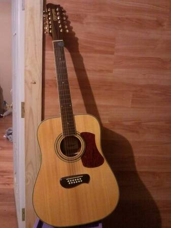Olympia guitar by tacoma 12 string - x0024300 (idabel)