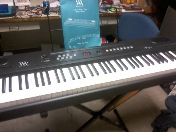 Williams Allegro 88 Key electric Piano - $200 (Magnolia, AR)