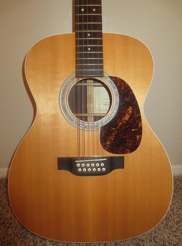 12 String Martin Guitar with Case -  1300