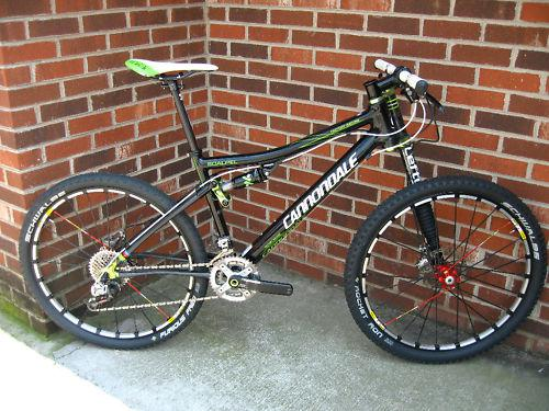 Cannondale Scalpel Ultimate complete mountain bike 17 - $2000