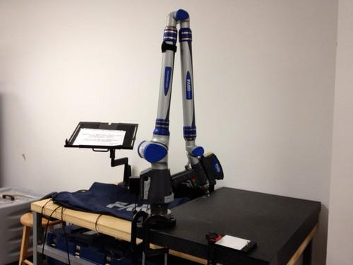FARO 8 7-Axis Platinum Arm and Laser Scanner - $3000