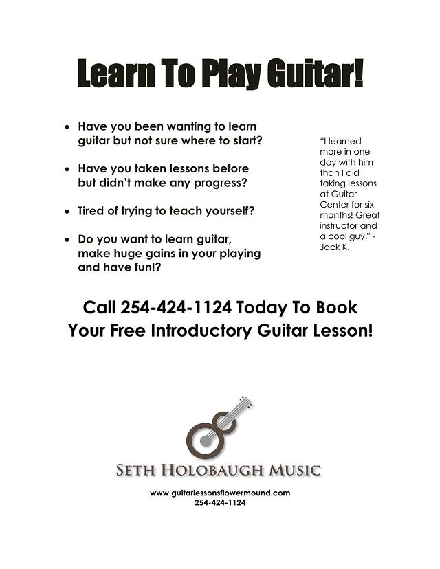 Have You Ever Wanted to Learn to Play Guitar Look No Further