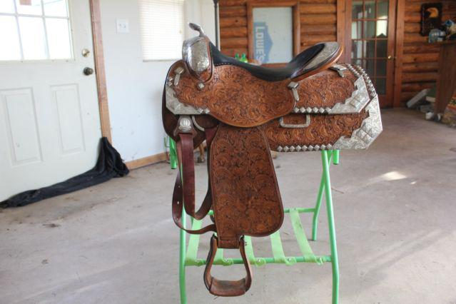 Mint Phil Harris Western Show Saddle $2000