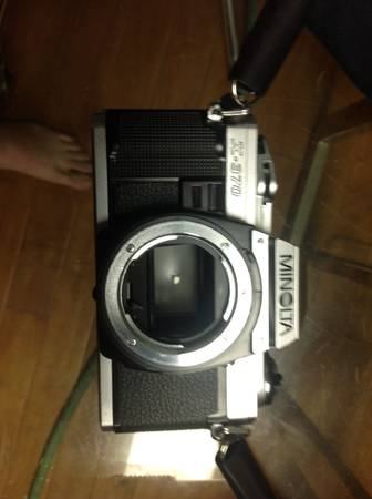 Minolta camera and lenses -  50  Redwater