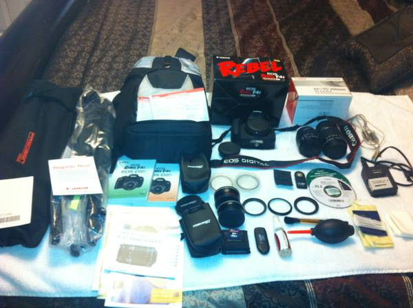 Canon EOS Rebel T4i Digital SLR Camera - $900 (Texarkana, Texas)