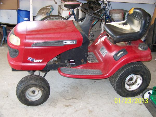 Craftsman DLT 3000 for Parts (Texarkana, Texas)