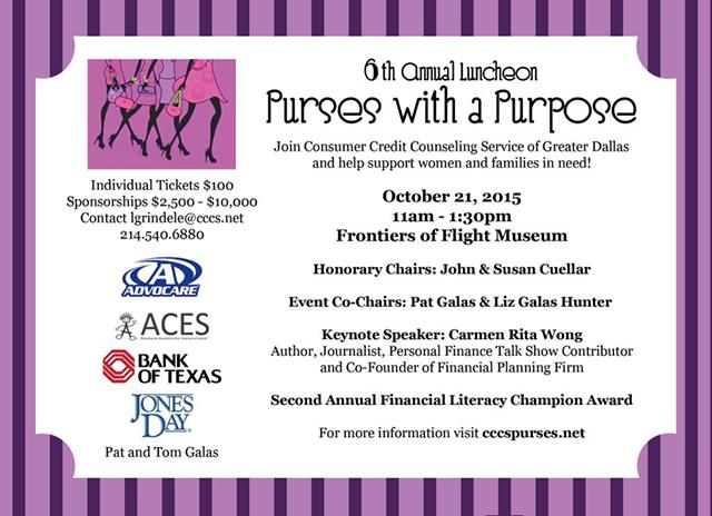 6th Annual Purses with a Purpose Luncheon