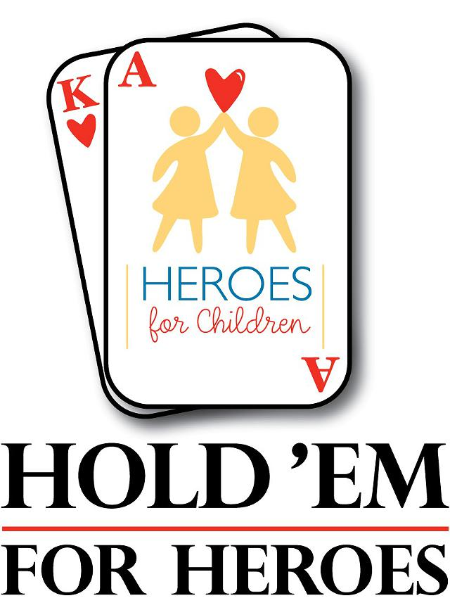 Ninth Annual Heroes for Children HoldEm for Heroes Returns