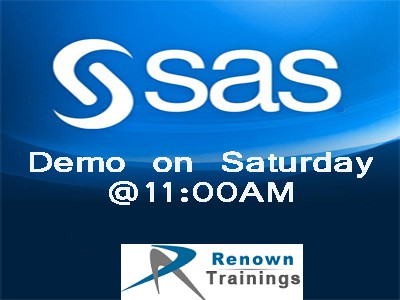 SAS Programming Course training in Hyderabad