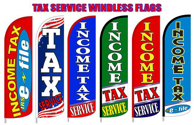 Breakfast Flags  Barber flag  TAX  flags  Feather flag  Cellular Flag  Sky Dancers  Pennants