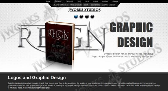 Dallas Graphic Designer - Logos  CDs  Website  and more