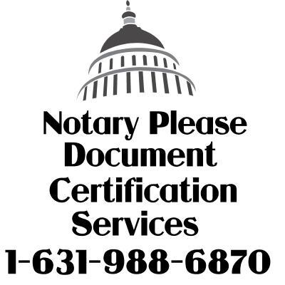 Apostille Embassy Legalization Rush Services ALL States
